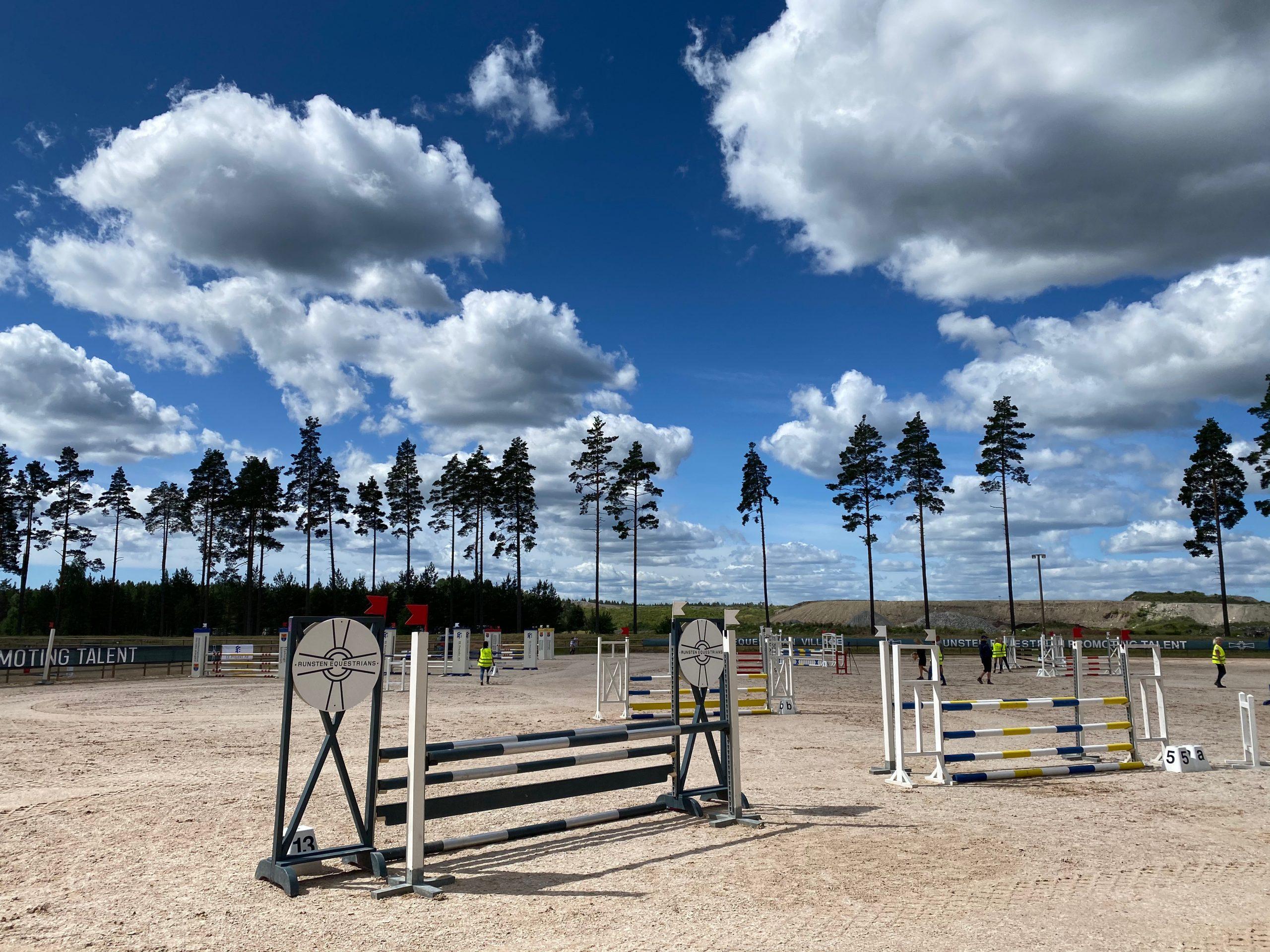 Ponnyhoppning & Ponnyallsvenskan Div 1 på Runsten